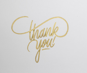 thank you, gold, and followers image