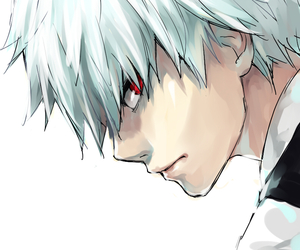 ghoul, suit, and tokyoghoul image