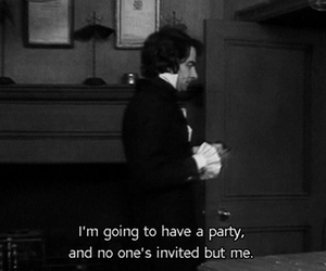 alone, party, and hate everyone image