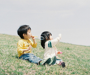 cute, kids, and asian image
