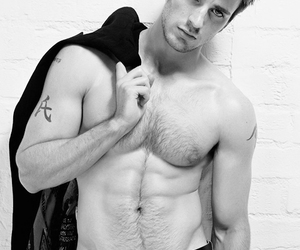 black and white and chris evans image