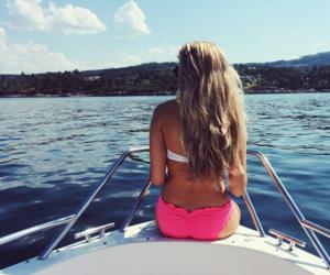 summer, bikini, and blonde image