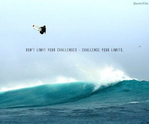 beach, inspirational, and quote image