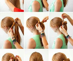 hair, how to, and hairstyle image
