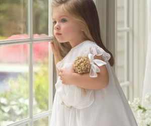 girl, child, and baby image