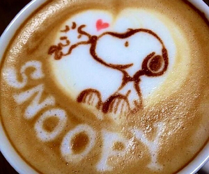 coffee and snoopy image
