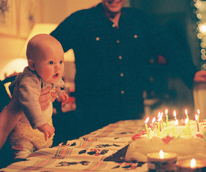 baby, birthday, and photography image