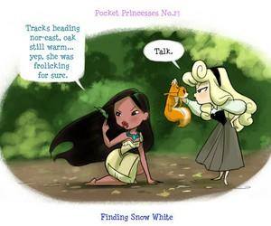 disney, aurora, and pocket princesses image