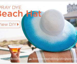 diy, beach hat, and cute image