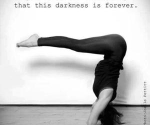 yoga and light image