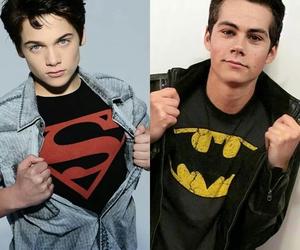 batman, dylan obrien, and hot boys image