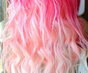 hair, pink, and pretty image