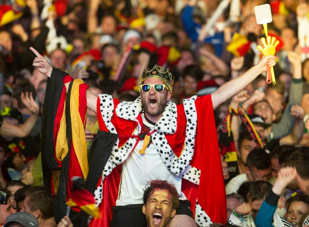 celebration, germany, and world cup image