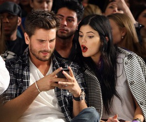scott disick, kylie jenner, and jenner image