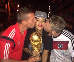 rihanna, germany, and world cup image