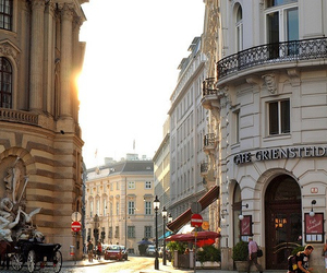 city, vienna, and building image