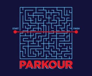 distance, parkour, and off limt image