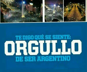 argentina, world cup, and brasil2014 image