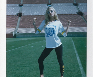 blonde, game day, and campus image