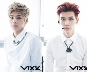 n, hyuk, and vixx image