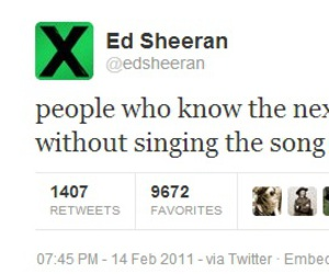 ed sheeran, twitter, and funny image