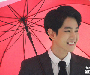 exo, Singing In The Rain, and smile image