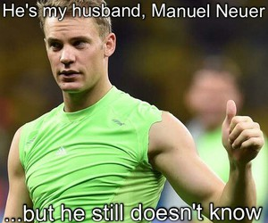 germany, manuel neuer, and love image