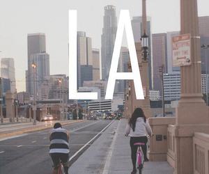 la, los angeles, and city image