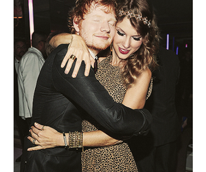 ed sheeran, Taylor Swift, and friends image
