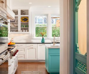 blue, cute, and kitchen image