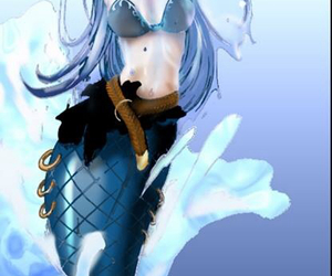 fairy tail, anime, and aquarius image