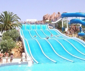 slide and waterpark image