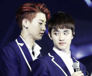 chanyeol, exo, and d.o image