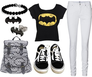 outfit, style, and batman image