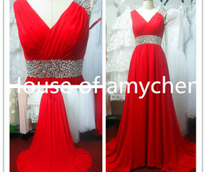 dresses, evening dress, and prom dresses image