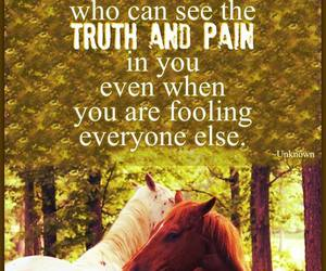 best friends, horse, and pain image
