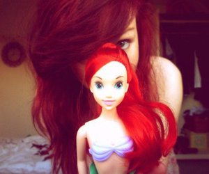 ariel and red hair image