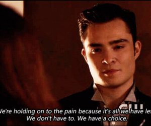 gossip girl, chuck bass, and quote image