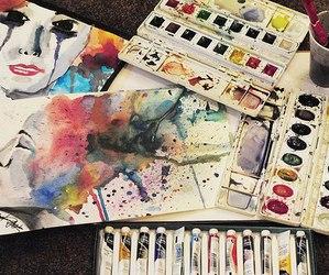 art, creativity, and imagination image