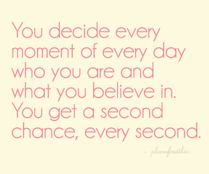believe, second chance, and inspirational image