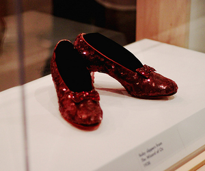 fashion, red, and ruby slippers image