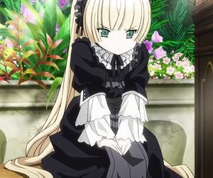 anime, blonde, and detective image