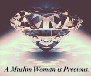 muslim, islam, and woman image