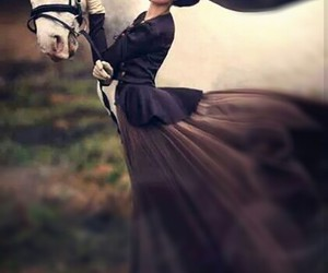 classic, romantic, and horse image