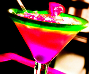 drink, party, and colorful image