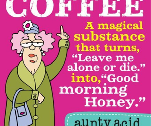 coffee, magical, and good morning honey image