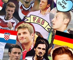 Croatia, football, and germany image