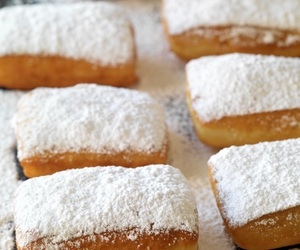 beignets and food image