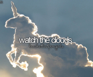 beforeidie, clouds, and girly image