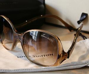Louis Vuitton, fashion, and sunglasses image
